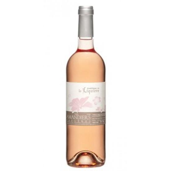 """Rosé : FAUGERES - """"les Amandiers"""" Château de la Liquiere (Bio) - 2020"""